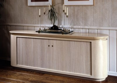 Tambour Door Side Buffet
