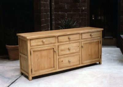 Antiqued Pine Sideboard