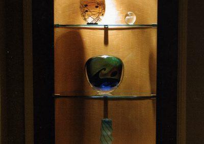 Elliptical Display Case