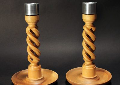 Hollow Spiral Candle Holders