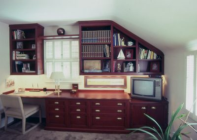 Mahogany Built-In Library