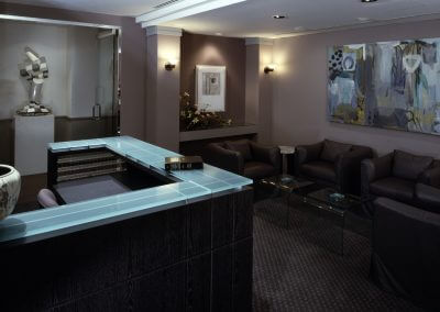 Law Firm Reception Desk