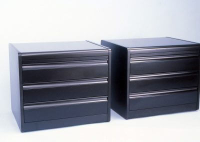 Polished Lacquer Nightstands