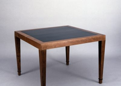 Donghia Inspired Walnut Dining Table