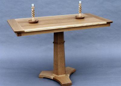 Oak Breakfast Table