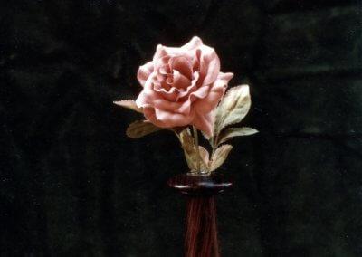Rosewood Bud Vase
