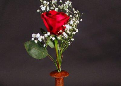 Redwood Burl Bud-Vase